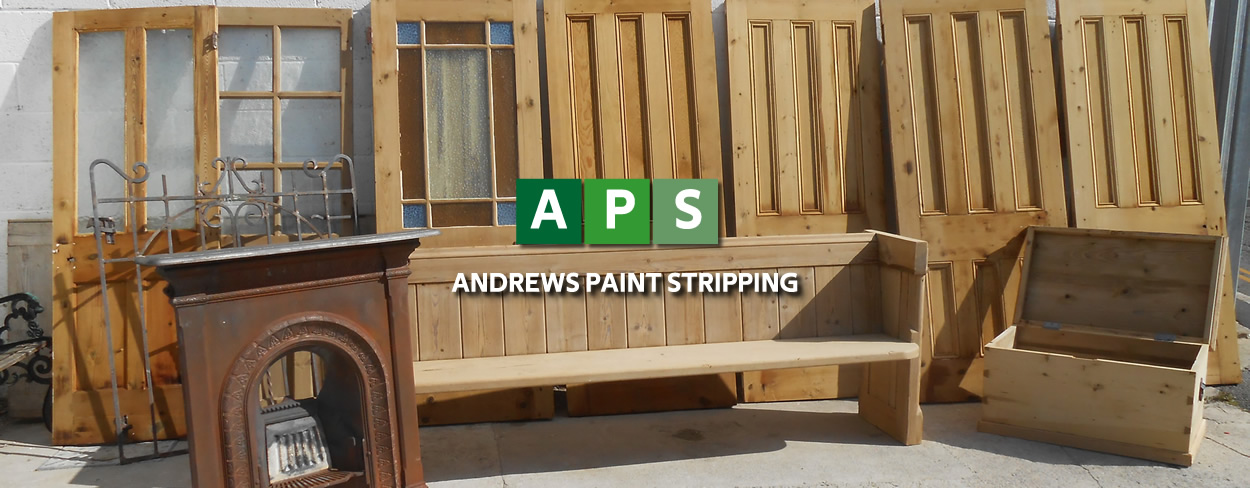 Andrews Paint stripping